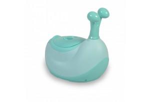 Детско гърне Cangaroo, Snail, зелен, 9 месеца+