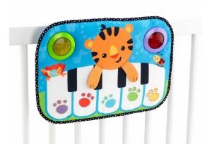 Fisher Price Бебешко пиано зa лeглo