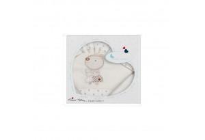 Interbaby детски спален комплект  от 3 части Nature Beigе (70x140см)