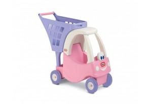Little Tikes - Кола за пазаруване (розова)
