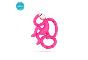 Matchstick Monkey Mini Monkey Teether чесалка с апликатор - Pink